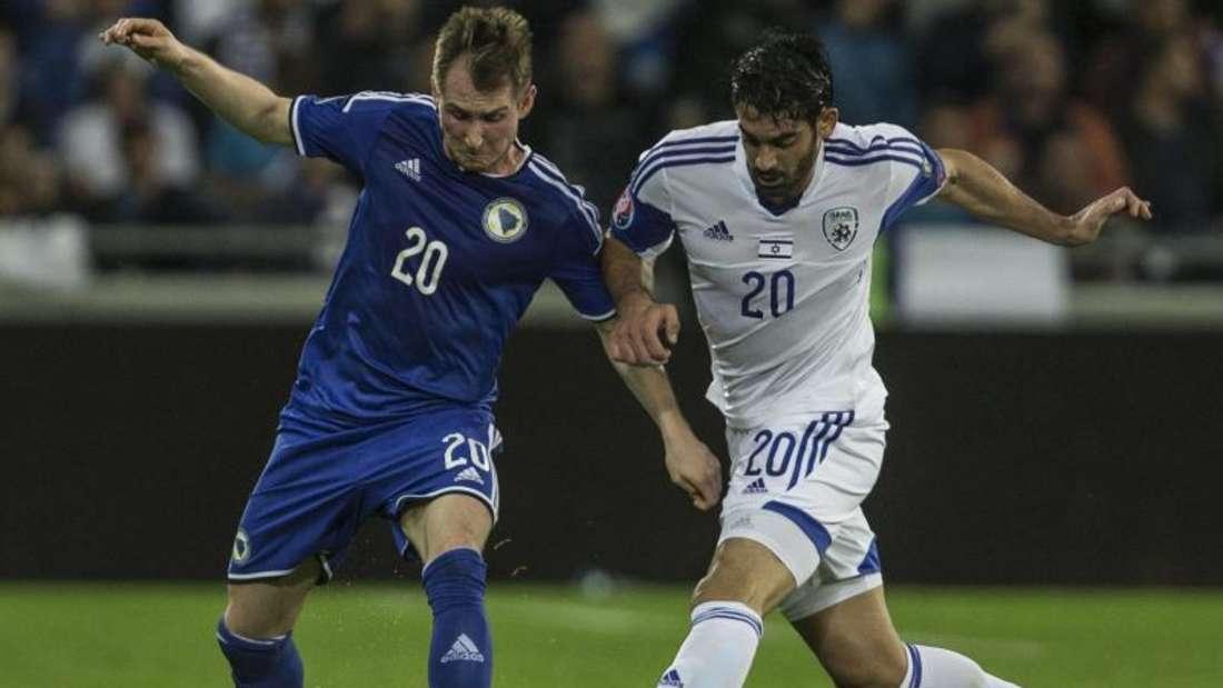 Israel gewann gegen Bosnien-Herzegowina überraschend deutlich mit 3:0. Foto: Oliver Weiken