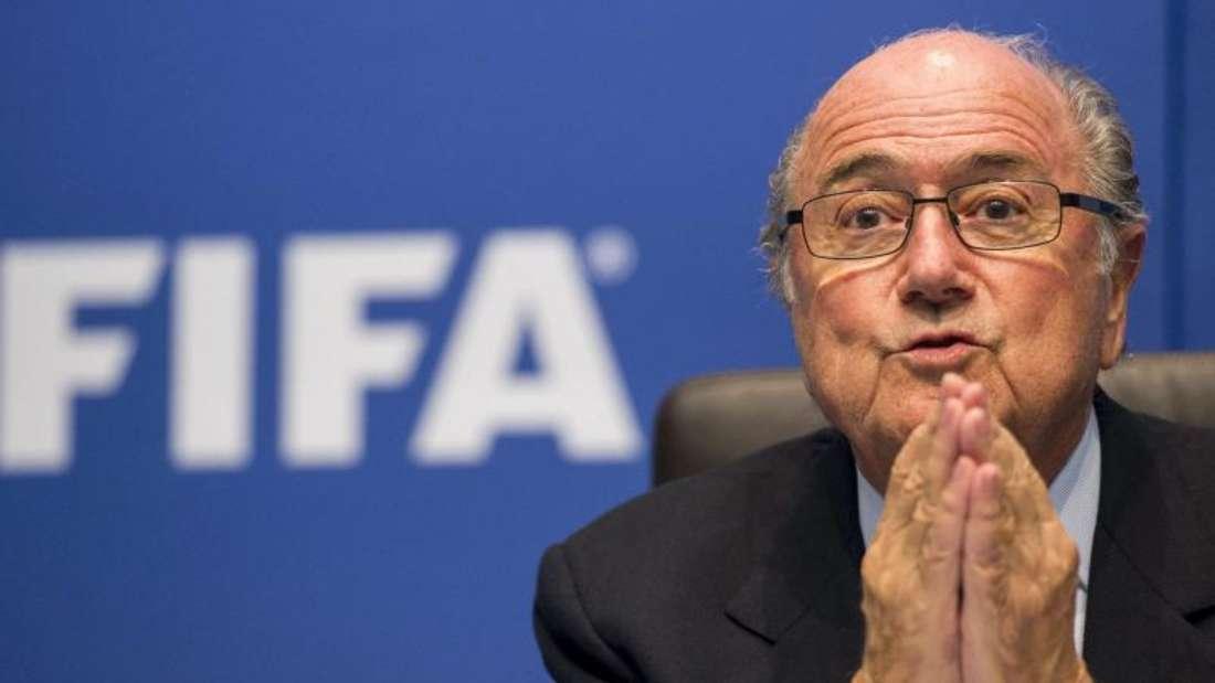 FIFA-Präsident Joseph Blatter hat Strafanzeige gestellt. Foto: Ennio Leanza