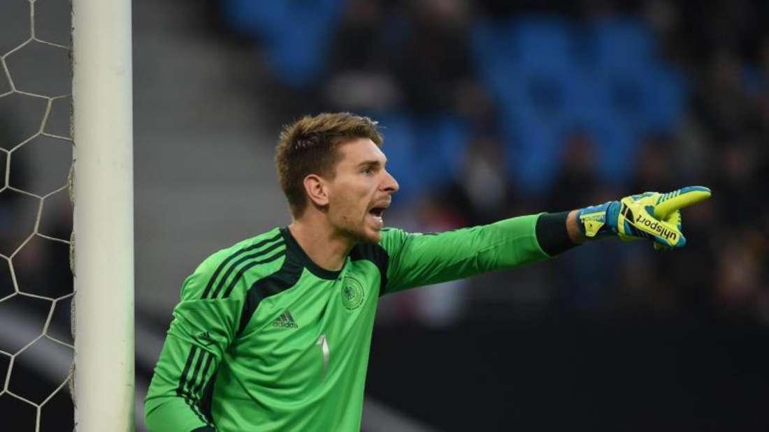 Ron-Robert Zieler wird gegen Spanien im Tor der DFB-Elf stehen. Foto: Marcus Brandt