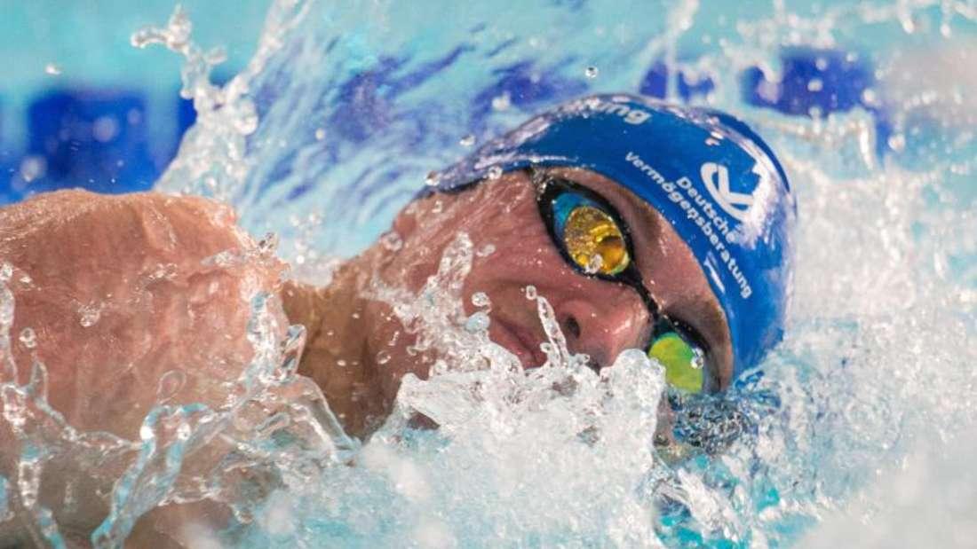 Paul Biedermann blieb nur knapp unter der der Vorlauf-Norm. Foto: Bernd Thissen