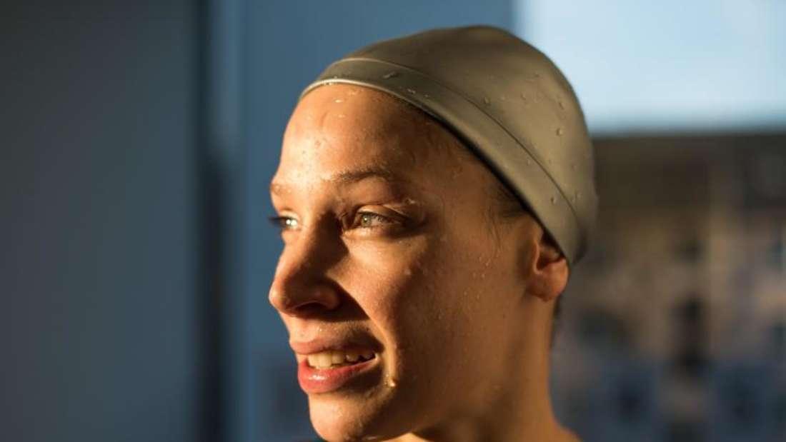 Dorothea Brandt tat sich über 50 Meter Freistil schwer. Foto: Bernd Thissen