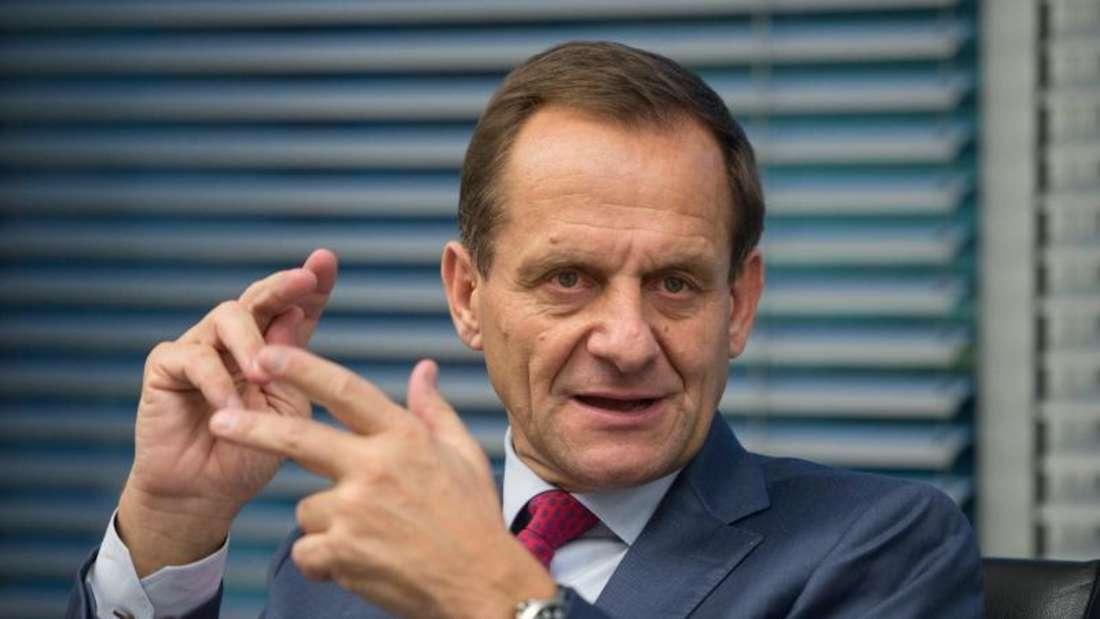 DOSB-Präsident Hörmann stellte klar, dass eine einfache Mehrheit ausreichen würde. Foto: Matthias Balk