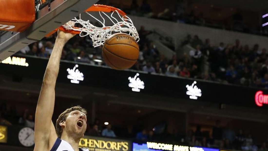 22 Punkte von Dirk Nowitzki reichten den Dallas Mavericks nicht. Foto: Larry W. Smith