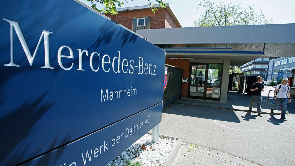 mannheim mercedes benz streicht bis 2021 500 jobs im. Black Bedroom Furniture Sets. Home Design Ideas