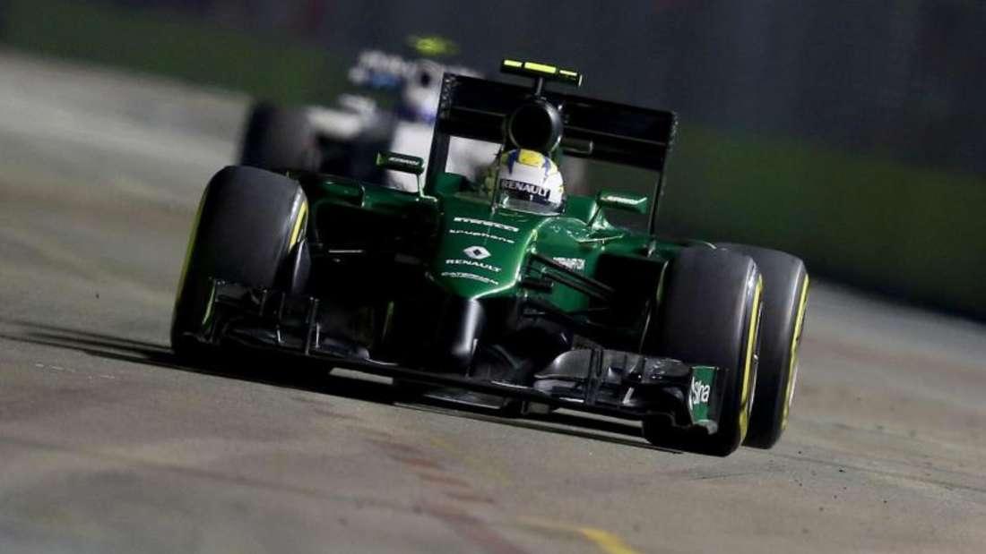 Das Team Caterham will noch wieder in der Formel 1 starten. Foto: Wallace Woon