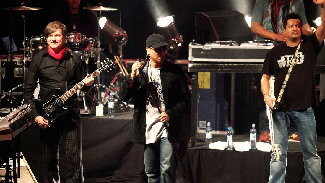 Ebenfalls 2011: Die Söhne Mannheims bei einem Auftritt in der polnischen Hauptstadt Warschau.