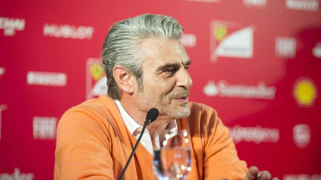 Maurizio Arrivabene spricht sich für radikale Veränderungen in der Formel 1 aus. Foto: Ferrari Press Office