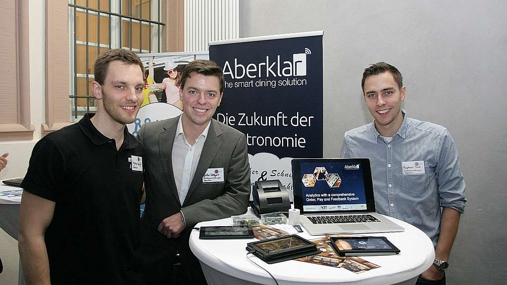 "Tolle Ideen bei der Messe ""GET IN Start-Up"" am Heidelberger Center of American Studies am 23. Januar."