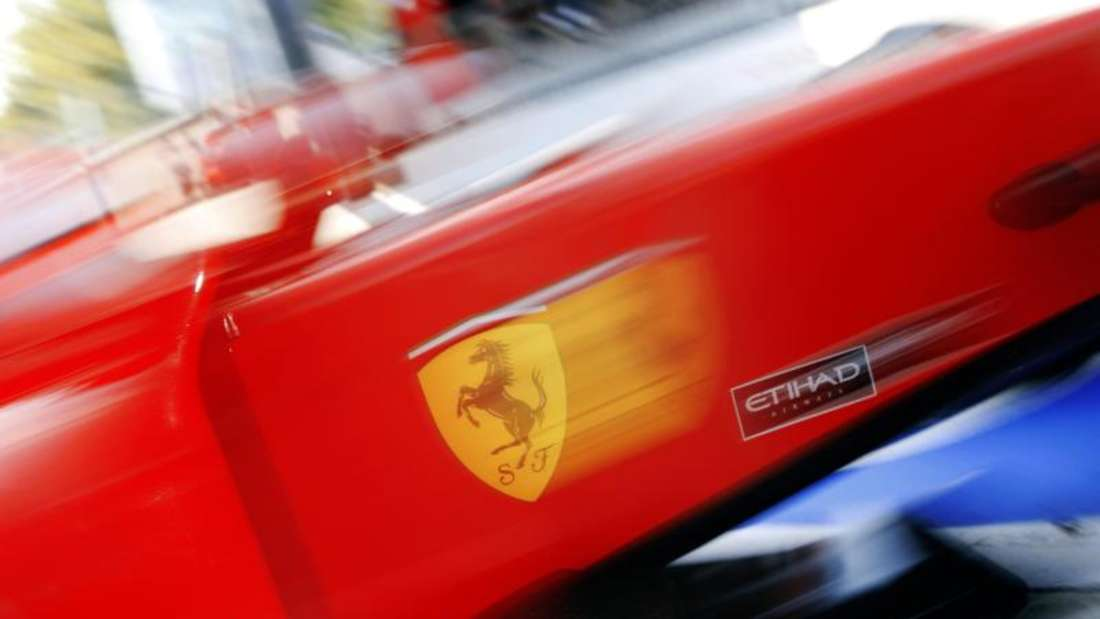 Der neue Ferrari-Bolide wird am 30. Januar im Internet vorgestellt. Foto: Jens Büttner