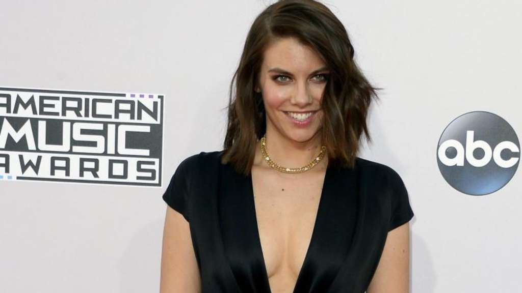 Lauren Cohan bei den American Music Awards 2014 in Los Angeles. Foto: Paul Buck