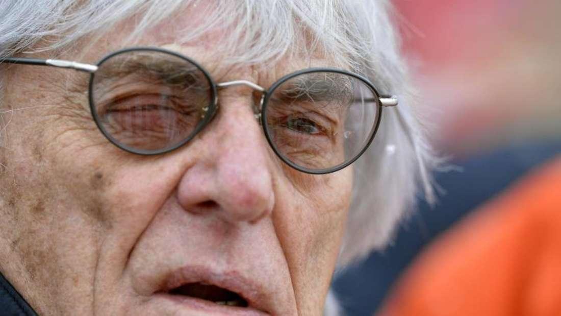 Bernie Ecclestone schätzt die Chancen auf einen deutschen Grand Prix auf unter 50 Prozent ein. Foto: Harald Schneider