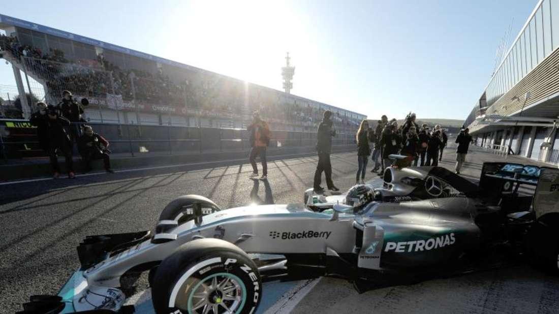 Die ersten Eindrücke dürften das Team um Nico Rosberg optimistisch stimmen. Foto: Peter Steffen