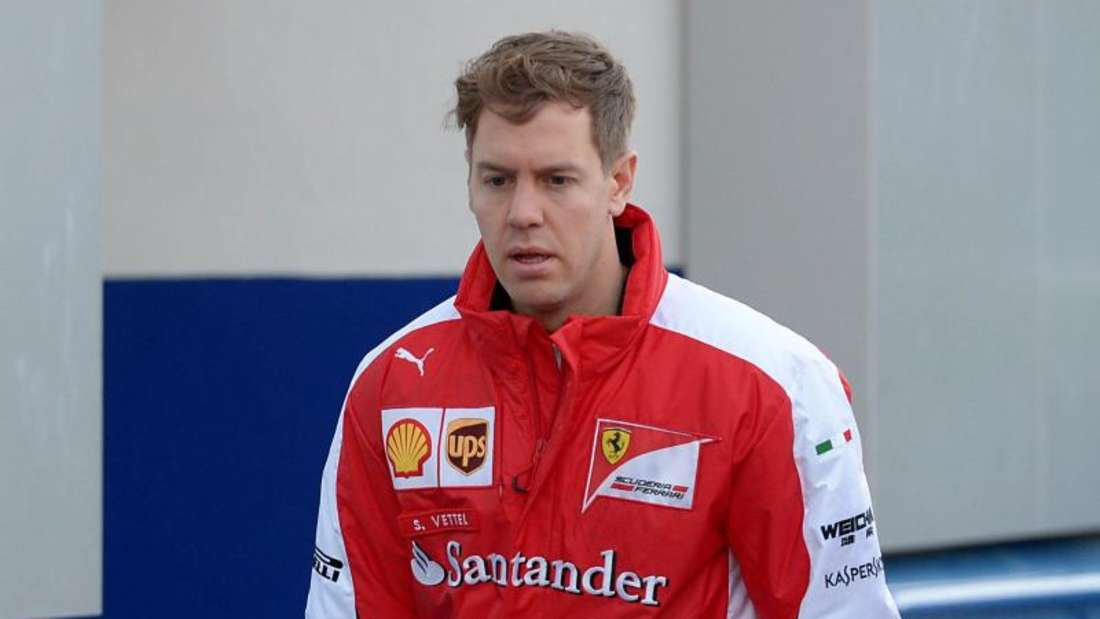Sebastian Vettel trägt jetzt Rot. Foto: Peter Steffen
