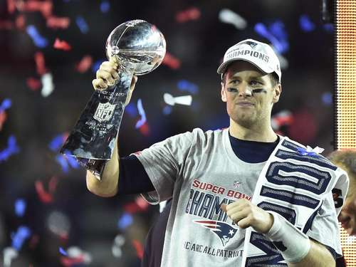 Sieg mit Patriots - Vollmer Super-Bowl-Champion