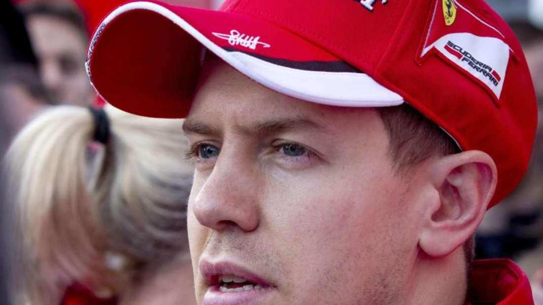 Sebastian Vettel kniet sich bei Ferrari voll rein. Foto: Roman Rios