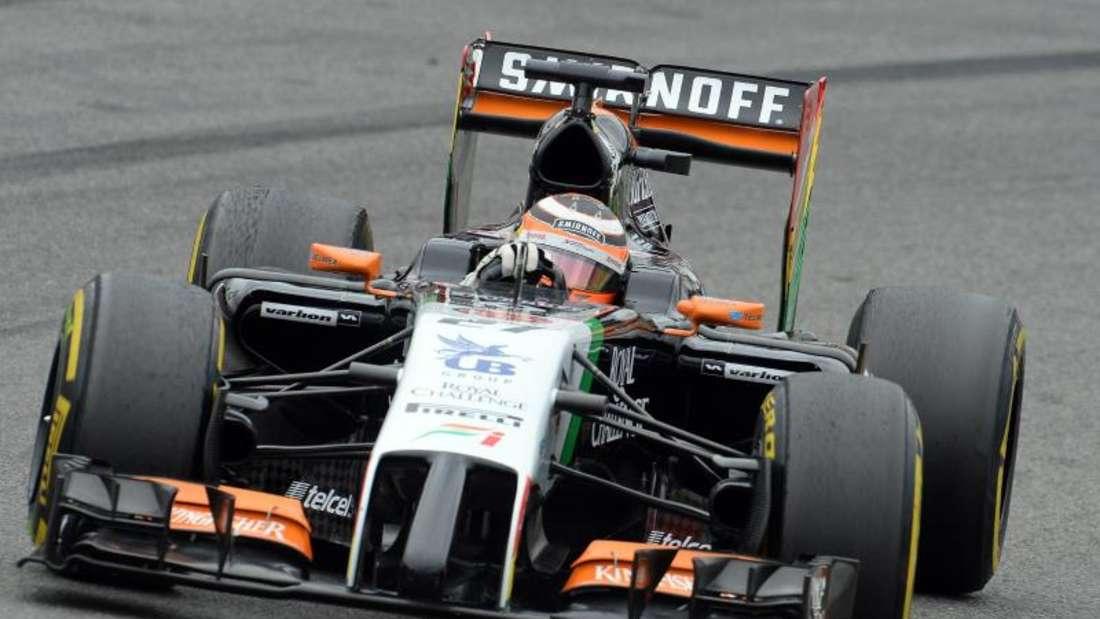 Nico Hülkenberg muss auf seinen neuen Formel-1-Wagen noch warten. Foto: Bernd Weißbrod