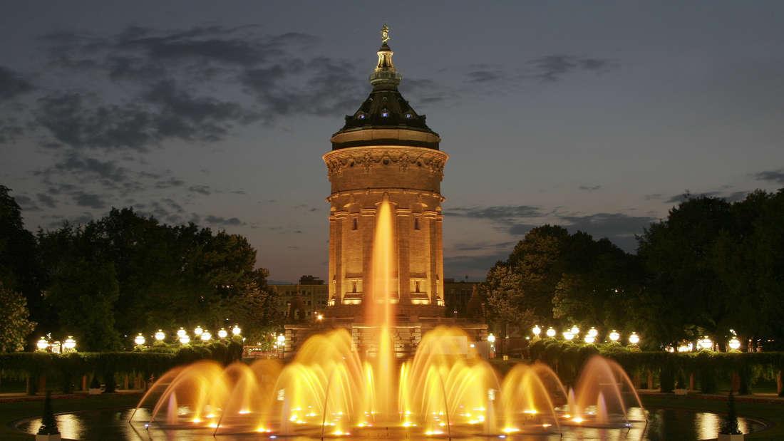 """Mannheim ist nicht nur """"City of Music"""", sondern auch eine beeindruckende """"City of Lights""""."""