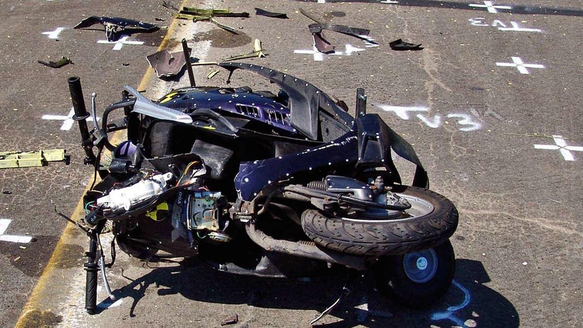 Unfall Roller