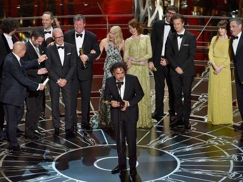 "Oscars 2015: Hollywood-Satire ""Birdman"" triumphiert"