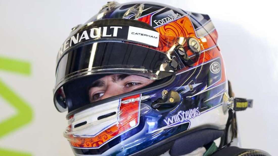 Der Brite Will Stevens wurde als erster Fahrer für das Manor-Team benannt. Foto: Srdjan Suki