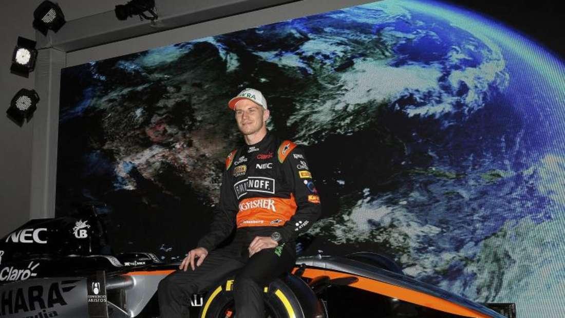 Nico Hülkenberg wird den Force-India-Boliden in Barcelona testen. Foto: Alex Cruz