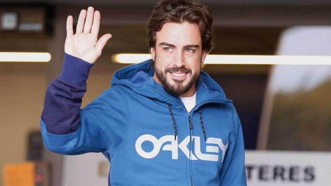 Spaniens Formel-1-Star Fernando Alonso geht es wieder besser. Foto: Alejandro Garcia