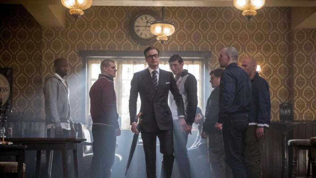 "Harry Hart (Colin Firth, M) ist ein ""Kingsman"". Foto: 20th Century Fox Deutschland"