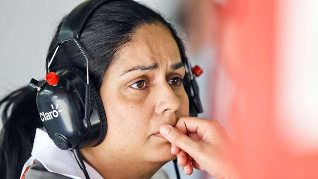 Monisha Kaltenborn ist die Teamchefin von Sauber. Foto: Srdjan Suki