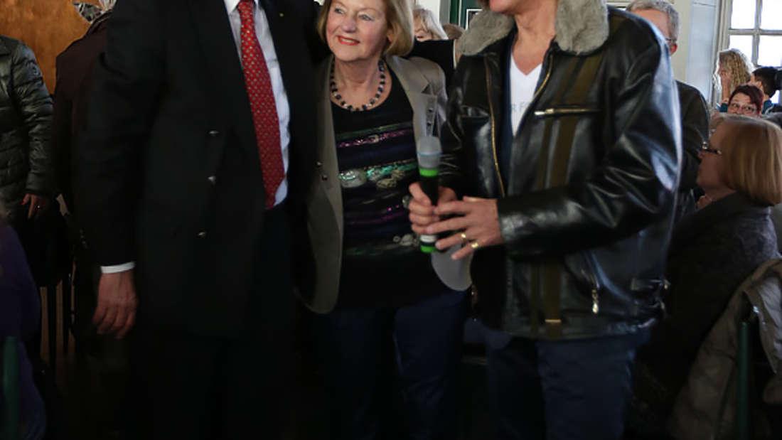 """Am Sonntag gibt Schlagerstar Jürgen Drews (69) ein Benefizkonzert in Ludwigshafen – Der Erlös geht an die Stiftung """"Lebensblicke""""."""