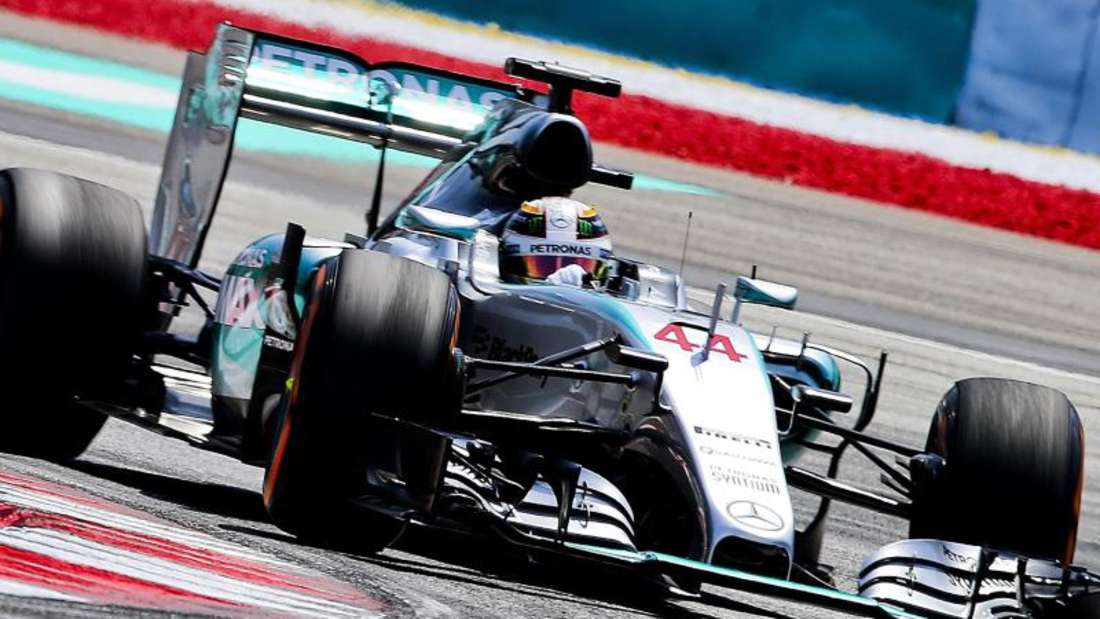 Lewis Hamilton will im Mercedes die Pole Position erobern. Foto: Srdjan Suki