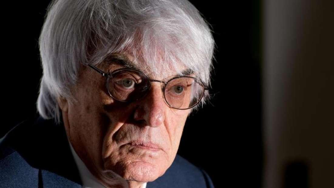 Bernie Ecclestone wird sich mit den deutschen Betreibern auseinandersetzen müssen. Foto: Sven Hoppe