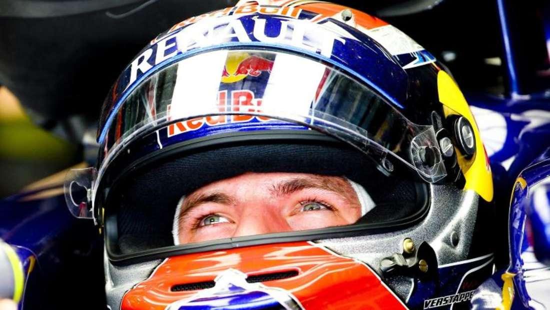 Max Verstappen holte als Siebter seine ersten WM-Punkte und schnappte sich den Rekord als jüngster Pilot in den Punkterängen. Foto: Diego Azubel
