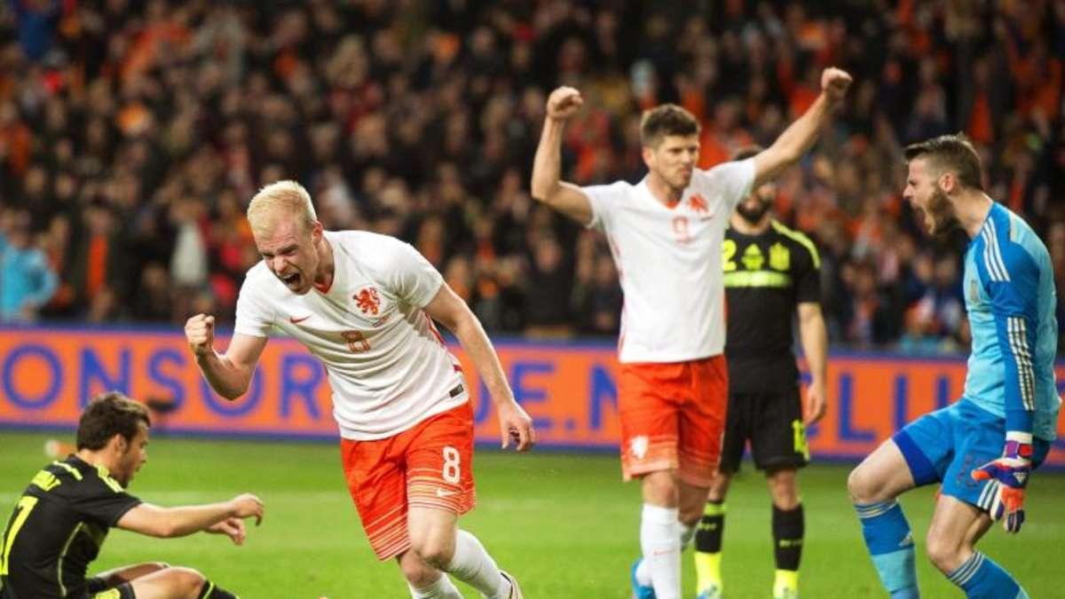 Niederlande Gegen England