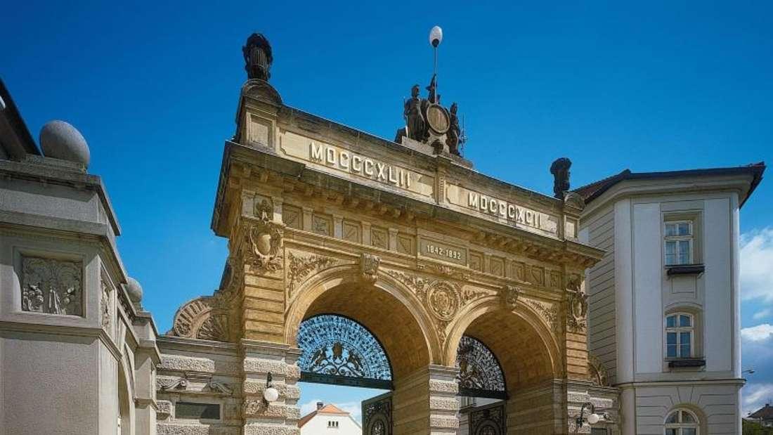 Das Tor zur Welt des Bieres: Das Pilsner-Urquell-Museum in Pilsen mag touristisch sein, lohnt aber einen Besuch. Foto: Czech Tourism