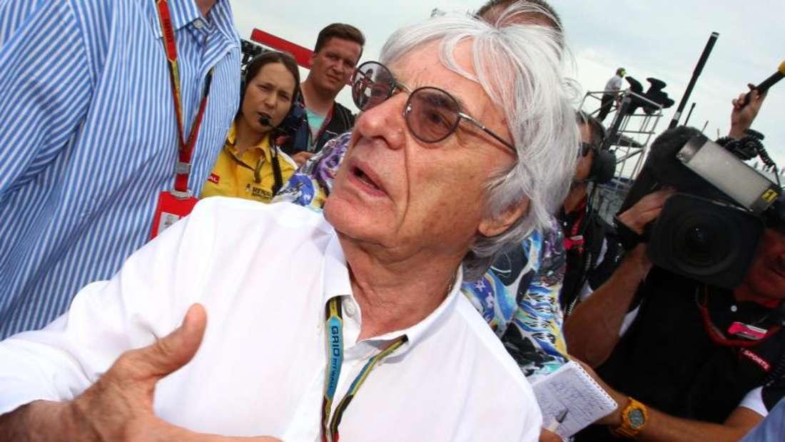Formel-1-Chef Bernie Ecclestone. Foto: Jens Büttner