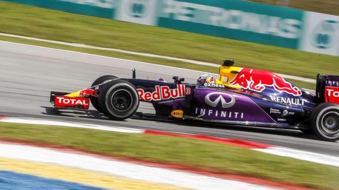 Seit der Umstellung auf die Turbomotoren fährt Red Bull meist nur noch hinterher. Foto: Azhar Rahim