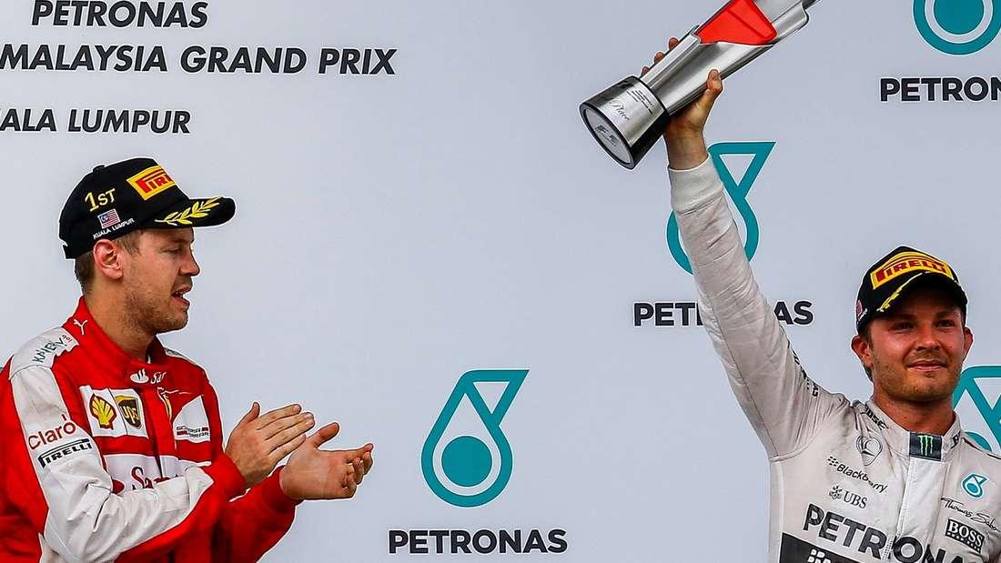 Formel 1, Ferrari, Mercedes, Vettel, Rosberg