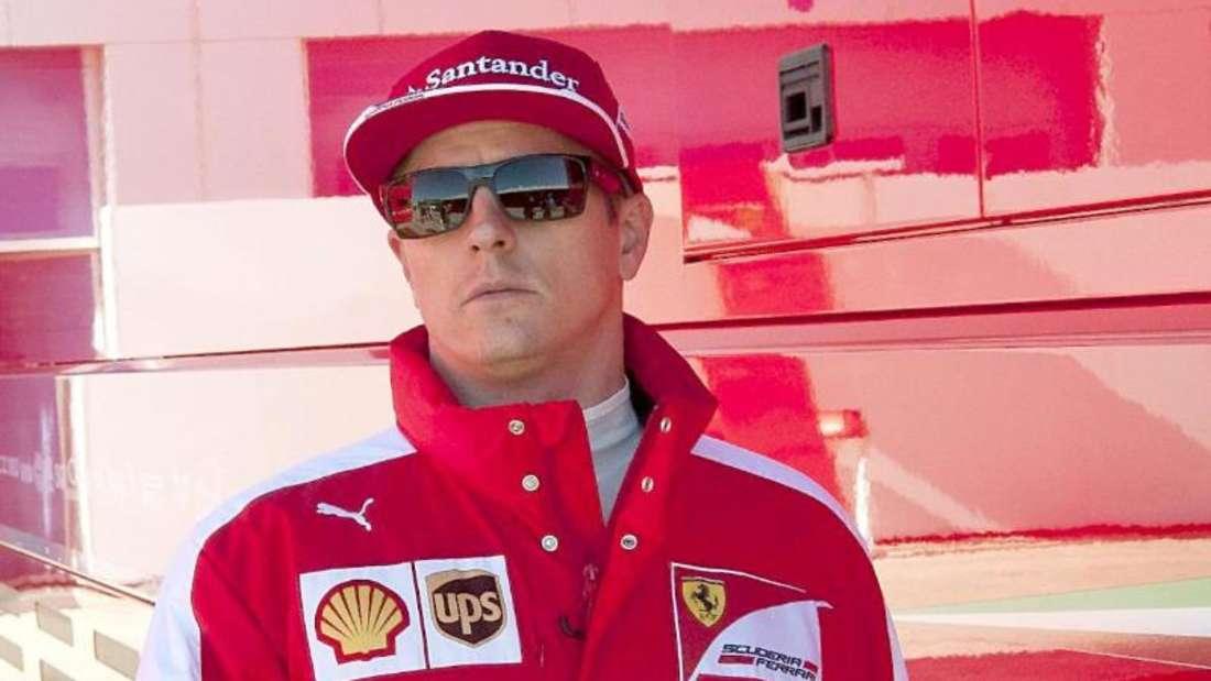 Kimi Räikkönen ist bei Ferrari sehr zufrieden. Foto: Roman Rios