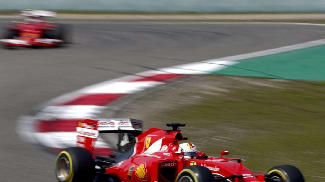 Ferrari-Pilot Sebastian Vettel zeigte im Training eine starke Leistung. Foto: Diego Azubel