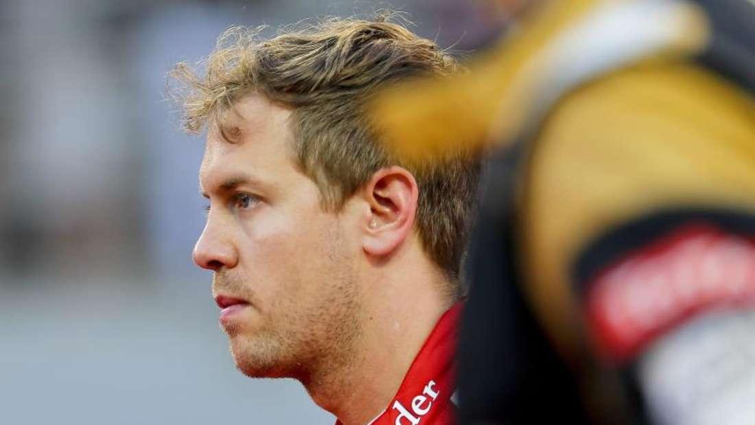 Rang fünf stellt Sebastian Vettel nicht zufrieden. Foto: Srdjan Suki