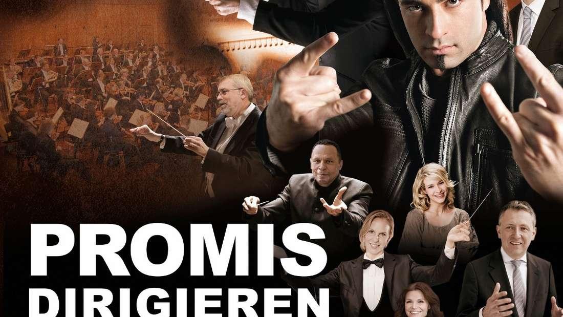"Bei ""Promis dirigieren"" greifen im Mannheimer Rosengarten Stars wie Bülent Ceylan oder OB Peter Kurz zum Taktstock."