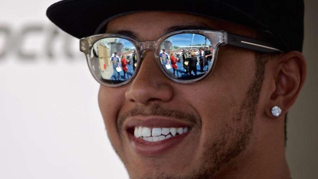 Mercedes-Pilot Lewis Hamilton fuhr im ersten Kanada-Training die Bestzeit. Foto: Andre Pichette