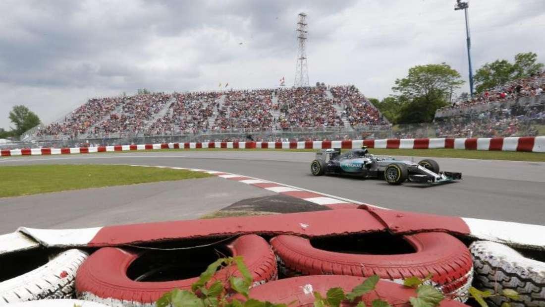 Lewis Hamilton ist auch bei der Qualifikaton in Montreal der Favorit auf die Pole Position. Foto: Valdrin Xhemaj