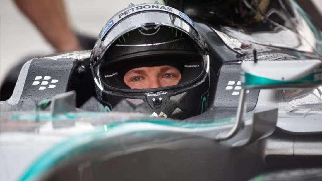 Nico Rosberg ist auch in Kanada vorne mit dabei. Foto: Andre Pichette
