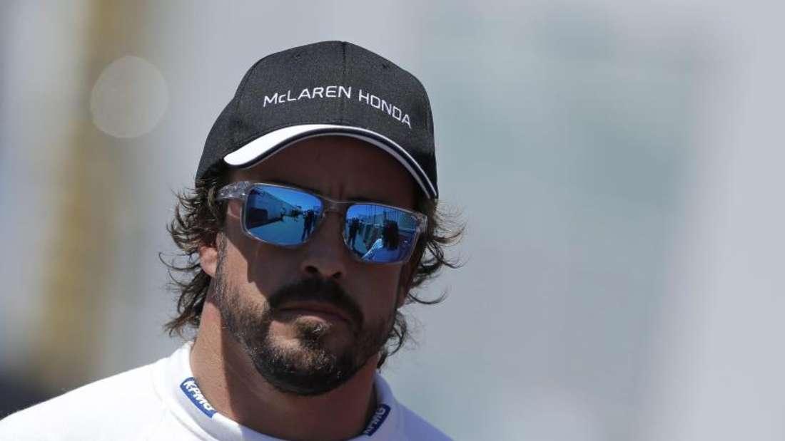 Fernando Alonso fährt mit McLaren nur hinterher. Foto: Valdrin Xhemaj