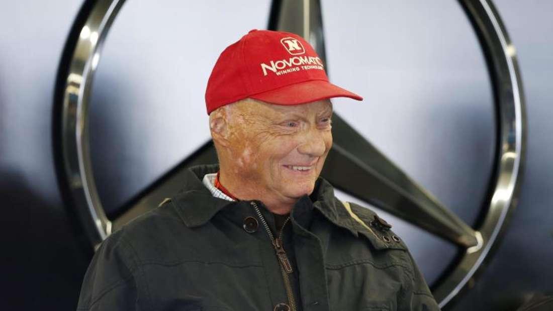Niki Lauda ist der Aufsichtsratschef des Mercedes-Teams. Foto: Valdrin Xhemaj
