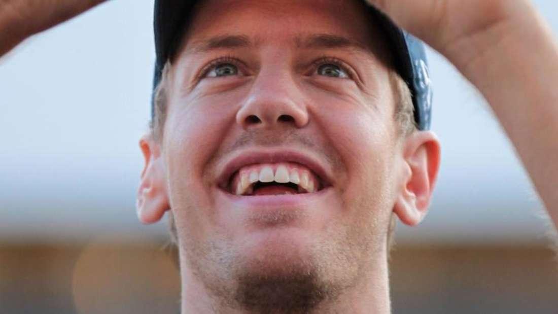 Sebastian Vettel findet, dass das Leben immer stressiger wird. Foto: Jan Woitas