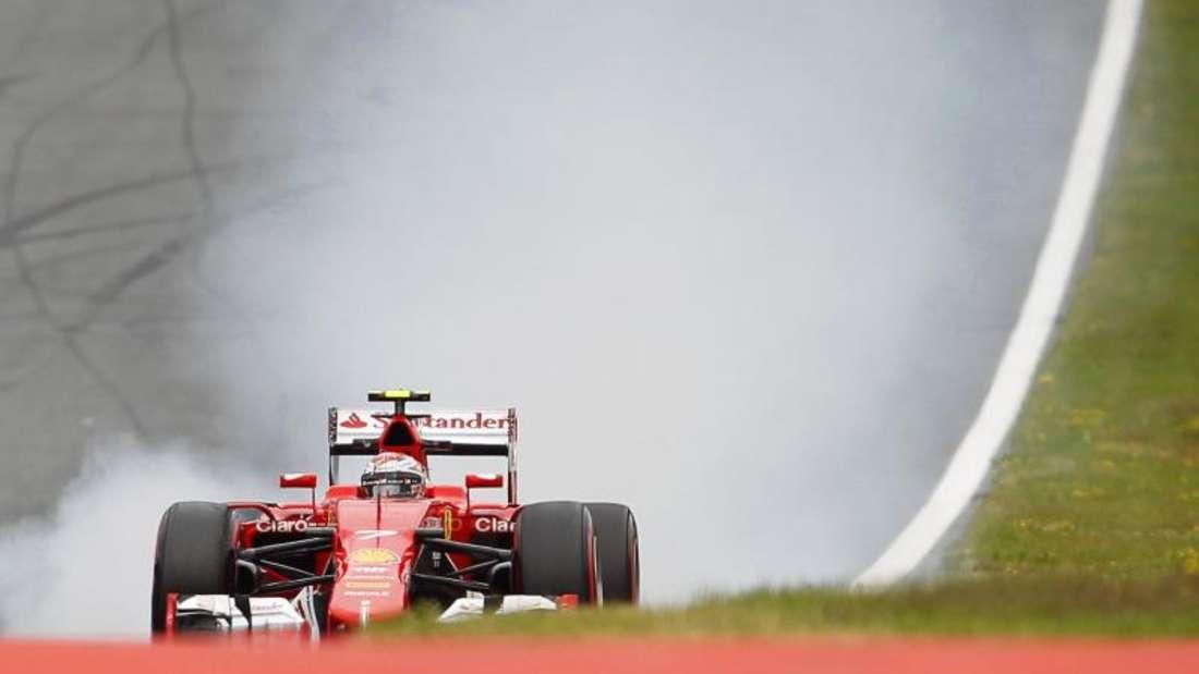 Kimi Räikkönen überzeugte im zweiten Ferrari mit zwei dritten Plätzen. Foto: Erwin Scheriau