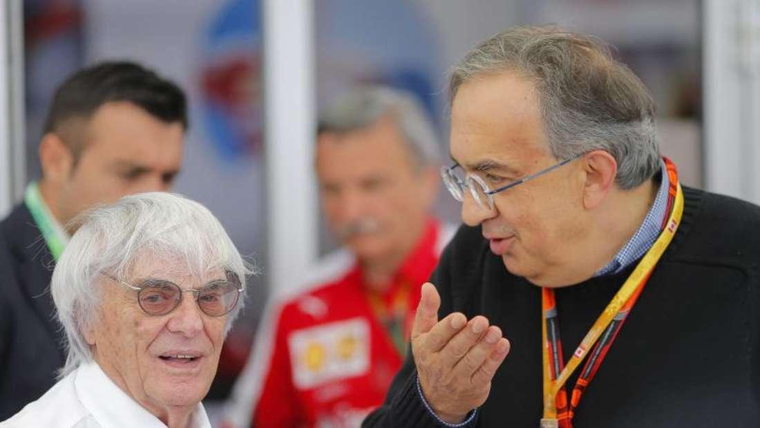 Fiat-Präsident Sergio Marchionne bot Red Bull Ferrari-Motoren an. Foto: Valdrin Xhemaj