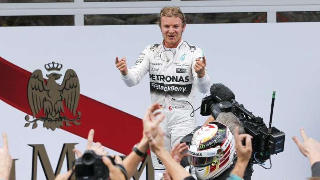 Nico Rosberg verkürzt in der Gesamtwertung den Abstand auf Lewis Hamilton. Foto: Valdrin Xhemaj